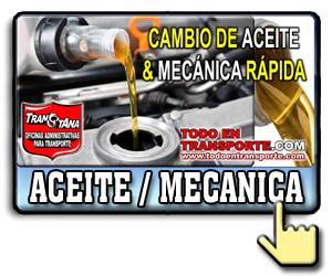 Mecanica y cambio de aceite
