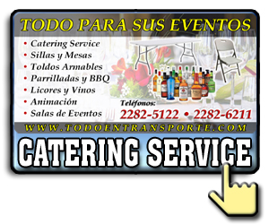 Servicio de catering, parrilladas y eventos