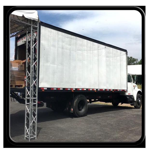 Necesita transporte con camion de tonelaje alto o mediano?