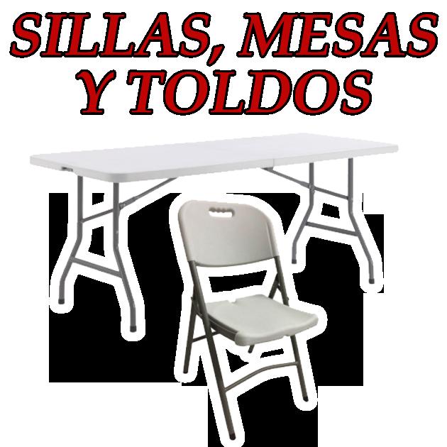 Necesita alquilar mesas, sillas y toldos?