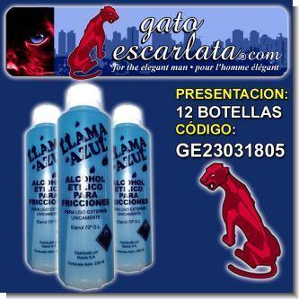 Lee el articulo completo ALCOHOL AZUL 230 ML.